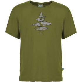 E9 Equilibrium Koszulka Mężczyźni, pistachio